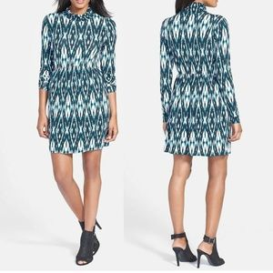 Tart Rhiannon Mock Neck Babydoll Dress